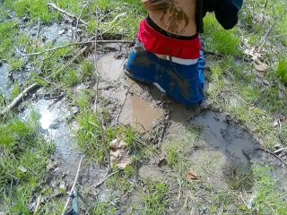 Baggykyle in the mud!