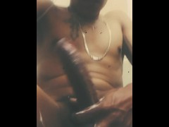 Straight thug huge cock smoke fetish