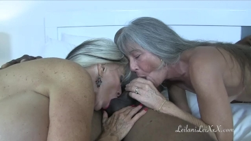 Popping His Cherry - Interracial Threesome