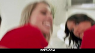Party bffs fuck into cup fest turns world isabella nice