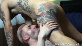 Trevor Plows Hot Muscle Stud Sir Jet