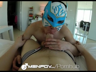 MenPOV Freaky POV masked tight ass fucking