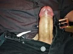Male Office Colleague Dirty Talk Wank & Cum