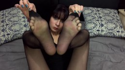 Diosa Valentina Castiblanco - My feet from above (Custom Request)