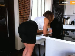 Preview 1 of My horny secretary always give me a pleasure