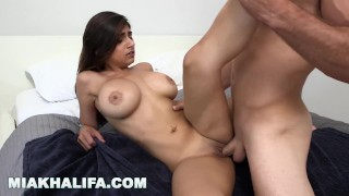 MIA KHALIFA - Sean Lawless Gets His Dick Sucked In The Shower Fuck butt
