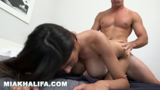 MIA KHALIFA - Sean Lawless Gets His Dick Sucked In The Shower Tits drilled