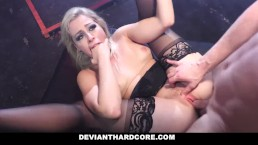 DeviantHardcore - onderdanige tiener Anally gedomineerd