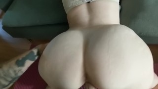 Real sex with my PAWG. THICC WHITE GIRL.  ass tits homemade whooty huge pale juicy cum young curvy ride pawg pussy cute white girl thick white girl