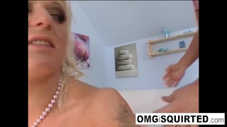 Rides hexe she cock the squirts till staxxx blonde