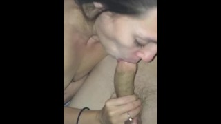 Sucking daddy's dick