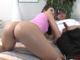 Ebony anal reverse cowgirl