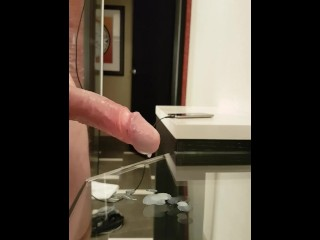Prostate milking at hotel