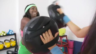 Fitness on lesbians sweat rooms get interracial a babes fit