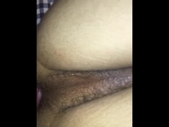 My boyfriend pounding my ass hard
