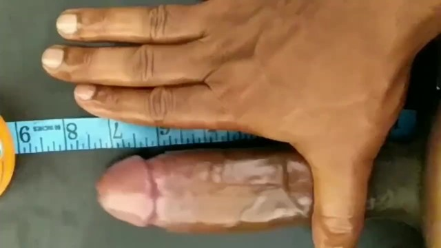 How does my penis measure up My penis measured