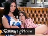 Lesbian Teen Riley Reid Wants More From Step MILF Mindi Mink