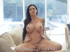 PUREMATURE Big dick PUNISHMENT with inked up MILF