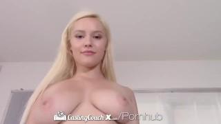 Agent thick castingcouchx casting busty fucks blonde hard curvy