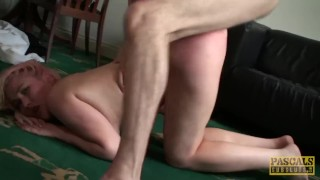 Kinky Misha Mayfair anally destroyed before tasting spunk