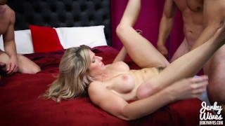 Cory Chase in StepMom fucks her Two Sons Pussy mature