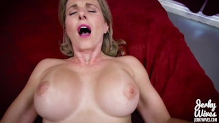 Cory Chase in StepMom fucks her Two Sons Butt hardcore