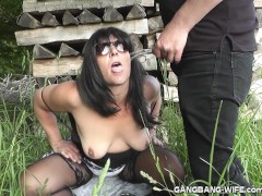 : Brand new pee fun escapades with slutwife Marion