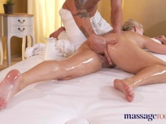 Massage Rooms Multiple squirting for Czech blonde