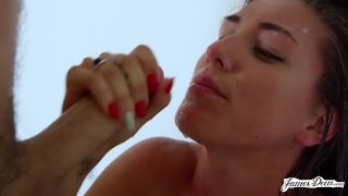 In brunette doggystyle rae babe fucked and rough hard rilynn fast dick deepthroat