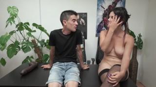 Claudia Sevilla y Jordi el Niño Polla: Entrevista Poller   entrevistas poller young latin teenager big boobs claudia sevilla jordi enp el nino polla big cock