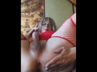 My ass and my masturbating