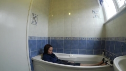 Estate Agent Takes A Dip Fully Clothed
