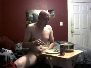 piggy feeding belly stuffing 7/30/18