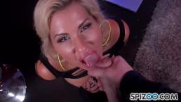 The Stripper Experience - Savana Styles sucking a big dick, big boobs