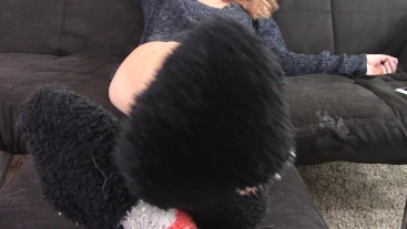Fuzzy Socks Ignore and Tease