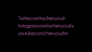 Cherry Crush gives messy deep throat blowjob , booty shaking & cumshot  ass suck booty sexy masturbate cum young girlfriend pawg butt petite cute teenager cherry adult toys cherrycrush