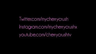 Cherry Crush gives messy deep throat blowjob , booty shaking & cumshot Solo ukrainian