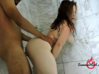 Fucked in the Shower Doggy Style Summer Hart Oliver Davis