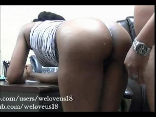 Ebony quickie porno