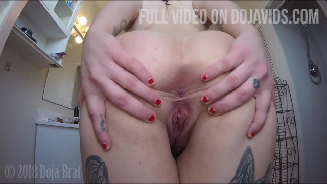 Chubby black fats booty movies Pawg claps big booty, winks asshole and spreads fat ass