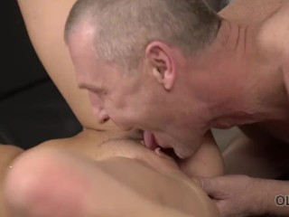 Submissive russian cuckold old4k spontaneous sex of daddy and blonde starts with nice blowjob hun