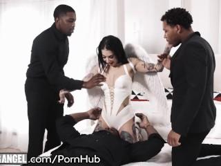 Sledujte Hlasité sténání přítelkyně s perfektním zadkem jezdí péro, dokud orgasmus na té nejlepší hardcore pornostránce.