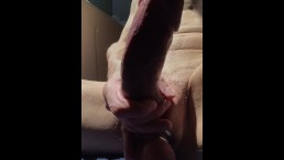 Cum Erupts From Fat Cock Twice