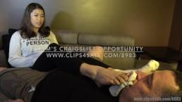 Kim's Craigslist Opportunity - (Dreamgirls in Socks)