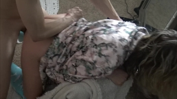 Fucking My Friend While My Hubby Films with a Hard Cock