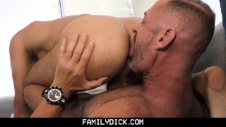 FamilyDick - Daddy Has Fun On Couch