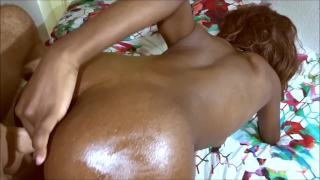 doggystyle ANAL - ebony bubble butt roughly anal fucked by white cock Big hardcore