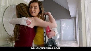 DaughterSwap - Horny Step Daughters Drain Their Step Dads Cocks Style naturals