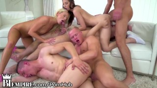 BiEmpire 4 Hunks and 2 Chicks Enjoy a Bisex Anal Orgy!  bisexual orgy ass fuck bi empire big tits bisexual male bi sexual biempire blowjob hungarian bisexual bi bisex anal sex anal male on male bi sex group sex bisexual anal