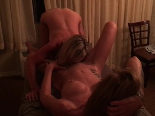 Hotwife Girlfriend Eating Pussy On A Random Meetup
